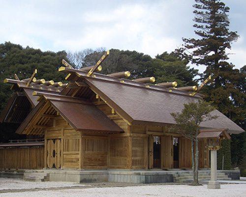 銅一文字葺屋根工法